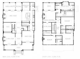 four square floor plan floor american foursquare floor plans