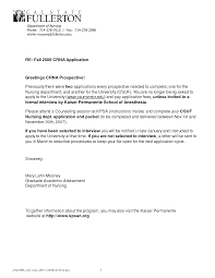 letter of recommendation for employment crna cover letter