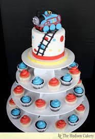 thomas the train choo choo cake topper cupcakes the hudson cakery