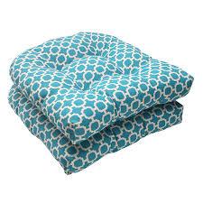 Amazon Com Outdoor Patio Furniture - amazon com pillow perfect indoor outdoor hockley wicker seat