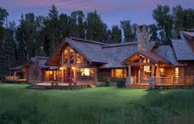 wyoming log homes yellowstone log homes