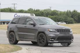2018 jeep grand cherokee trackhawk price spied jeep grand cherokee trackhawk totally undisguised