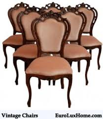 Antique Dining Chairs Antique Dining Table Letters From Eurolux