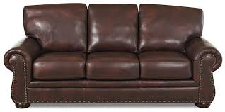 Klaussner Raleigh Nc Klaussner Leather Sofas Furniture Brown Leather Sofa With