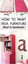 tricks to painting ikea furniture what not to do painting