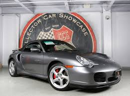 grey porsche 911 turbo 2004 porsche 911 turbo cabriolet 6 speed stock 1218 for sale