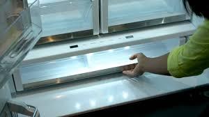 ge glass door refrigerator ge cafe stainless steel french door counter depth refrigerator