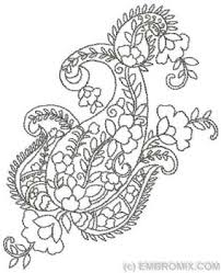 ornaments paisley patterns paisley pattern embroidery designs