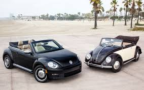volkswagen old beetle modified an older and newer model of the iconic vw beetle v w pinterest