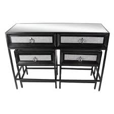 robinwood 3 drawer console table 3 piece console table set wayfair