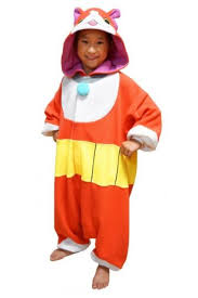 yokai watch jibanyan costume for children kids yo kai halloween