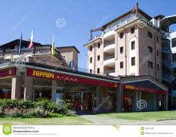 Maranello Italy by Ferrari Store And Planet Hotel Editorial Image Image 30087405