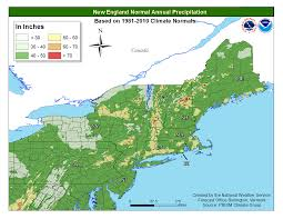 Weather Map New England by Local Climate Data And Plots