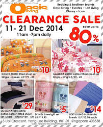 oasis living clearance sale home furnishing bed linen