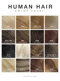 Color Hair Extension by Soho Hair Extension Color Chart U2013 Soho Style