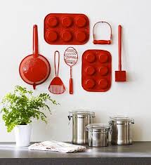 Kitchen Utensils Red - 17 stunning wall decors with reclaimed kitchen utensils utensils