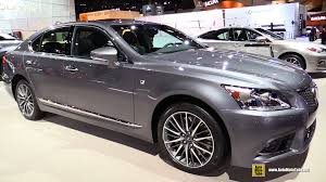 youtube lexus ls 460 2016 lexus ls460 awd f sport exterior and interior walkaround