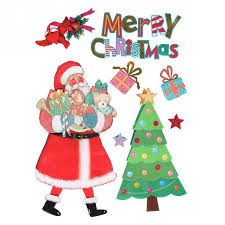 Merry Christmas Window Decorations by Popular Xmas Window Stickers Buy Cheap Xmas Window Stickers Lots