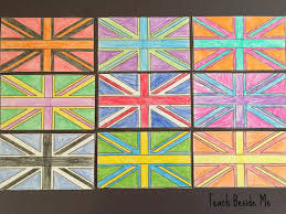 andy warhol for kids flag art teach beside me