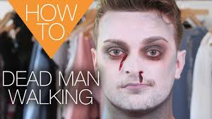 Halloween Makeup Man The New Dead Man Walking Halloween How To Makeup Tutorial Youtube