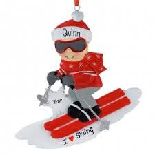 ski ornaments