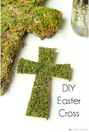 diy easter cross easter cross easter and spring