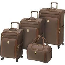 london fog kensington collection 4 piece set bronze luggage