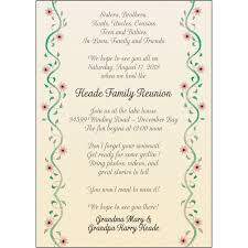 Invitation Card For Reunion Party 25 Personalized Family Reunion Invitations Frf 10 Vines With