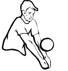 catching volleyball coloring download u0026 print