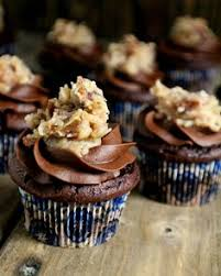 german chocolate cupcakes by ina garten i made this into a bundt