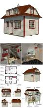 Micro Cabins Plans Tiny House Plans Tiny Houses Pinterest Tiny House Plans