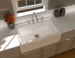 cast iron apron kitchen sinks single bowl kitchen sink cast iron apron front whitehaven with