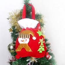 aliexpress com buy cloth christmas bag santa claus gift bag for