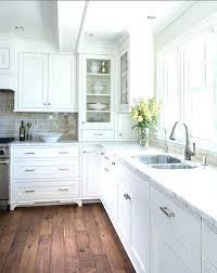old white chalk paint kitchen cabinets refinish washed oak