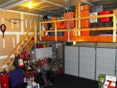 Cool Garage Storage Loft Like This Should Be Perfect In Garage In New House But Maybe