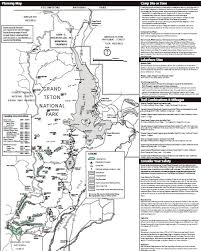 grand teton map permit area map grand teton national park backcountry permits