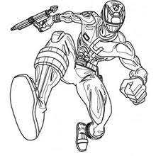 martial arts power ranger coloring pages hellokids