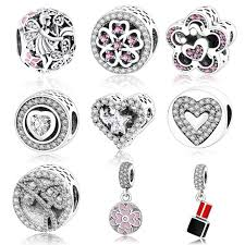 pandora charm bracelet sterling silver images 925 sterling silver angel flower charm fit original pandora charm jpg