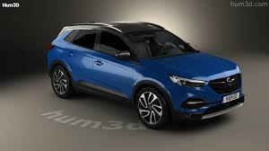 opel suv 2017 360 view of opel grandland x 2017 3d model hum3d store
