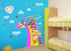 care bears rainbow cloud wall decal snv bedroom ideas