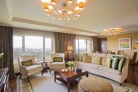 luxury suites with rich interiors at taj diplomatic enclave new delhi