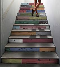 Industrial Stairs Design Colorful Staircase Designs 30 Ideas To Consider For A Modern Home