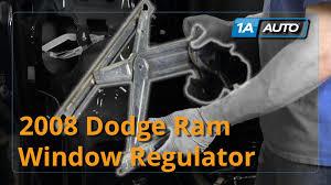 2001 dodge dakota window regulator how to install replace rear window regulator 2002 08 dodge ram