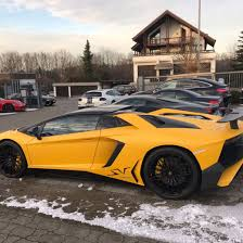yellow lamborghini aventador cars refined marques