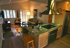 Small Kitchen Living Room Ideas Kitchen Charming Kitchen Design Ideas With Open Floor Plans