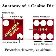 red rock casino floor plan pair 2 of official 19mm casino dice used at the hard rock casino