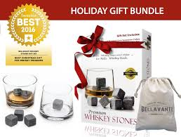 Soapstone Whiskey Gift Bundle The Best Whiskey Stones Gift Set For Iceless Chill