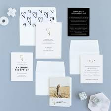 simple wedding invitations 12 simple inexpensive wedding invitations emmaline