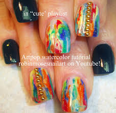 no water needed watermarble nail art tutorial youtube robin moses