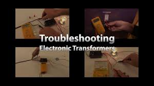 low voltage electronic transformer troubleshooting guide by total